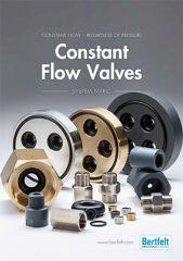 Broschyr Constant Flow Valves på engelska