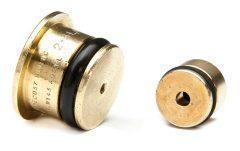 BT-MARIC doorstroombegrenzers type inzetstukken: messing, roestvrij staal, brons, U-PVC, POM, PVDF, titanium, duplex, PE, ..