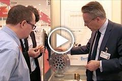 Link to film about Constant Flow Valves on Hannover Messe