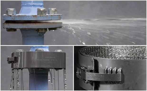 Spray Control in Steel is is an investment in safety and prevents major incidents at sudden leakage
